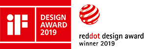 nuPro X-3000 - 1. Platz Leserwahlen Audio und Audiovision, reddot design award winner & iF Design Award