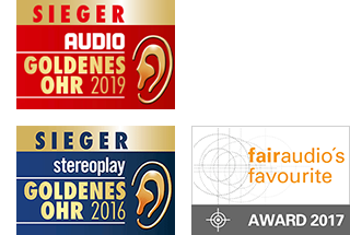 nuVero 60 - Goldenes Ohr, 1. Platz bei Audio und Stereoplay, Fairaudio's Favorite