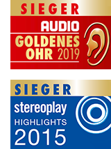 nuVero AW-17 - Goldenes Ohr, 1. Platz bei Audio und Stereoplay Highlight