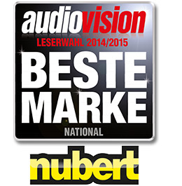 Nubert: Beste Marke (national) bei Audiovision