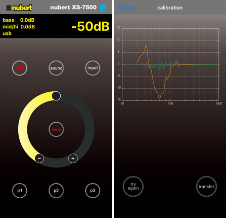 Nubert X-Remote App