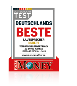 Focus Money - Nubert beste Lautsprecher