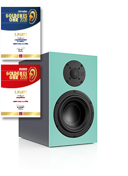 nuBox 325 Jubilee 1. Platz Leserwahl Audio & Stereoplay