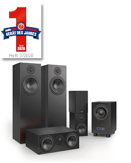 nuBox 483 Set - 1. Platz Leserwahlen Audiovision