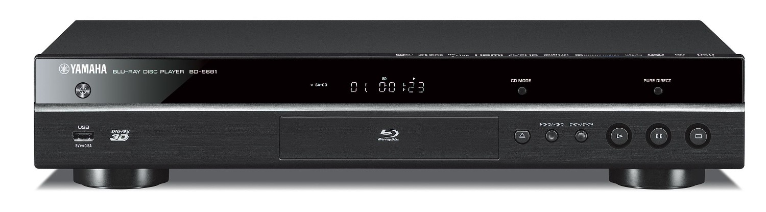 blu ray player yamaha bd s 681. Black Bedroom Furniture Sets. Home Design Ideas