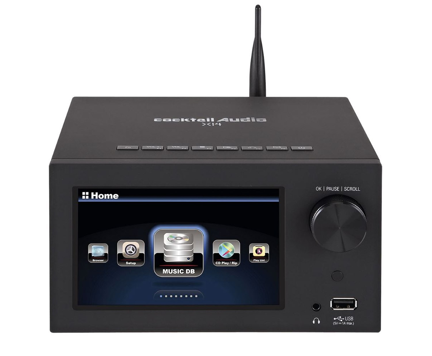 nuVero 30 All-In-One-Set mit Musikserver